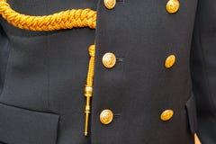 Uniforme polonês da marinha Fotografia de Stock