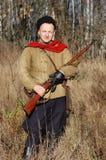 uniforme soviétique ww2 de personne militaire image stock