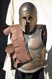 Uniforme spartana del soldato Fotografia Stock