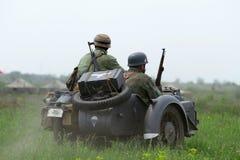 Uniforme y munición alemanes de ww2 Fotografía de archivo