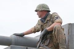 Uniforme y munición alemanes de ww2 Imagen de archivo libre de regalías