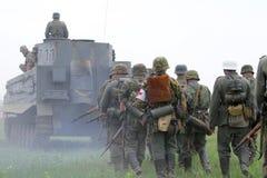 Uniforme y munición alemanes de ww2 Foto de archivo libre de regalías