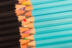 Free Uniformed Composition Of A Set Wooden Pencils Royalty Free Stock Photos - 97114998