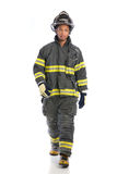 Uniformed Firefighter Standing Portrait Royalty Free Stock Images