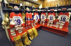 Uniformes del hockey Foto de archivo libre de regalías