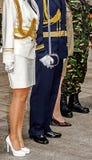 Uniformes militaires roumains 2 Photos stock
