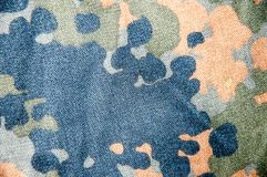 Uniformes modernes de camouflage, destinés à la fabrication des forces spéciales. Photographie stock