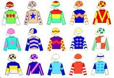 Uniformi della puleggia tenditrice Fotografia Stock