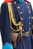 Uniformi ferroviarie del lavoratore fotografia stock