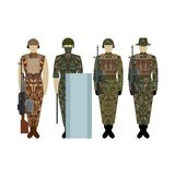 Uniforms of the British Army since 2000-1 Stock Photography