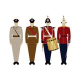 Uniforms of the British Army since 2000-2 Stock Photography