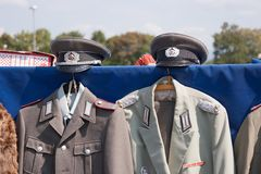 Uniforms - German Democratic Republic GDR Stock Photos