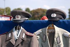 Uniforms - German Democratic Republic GDR Royalty Free Stock Photos