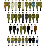 Uniforms of the North Korean army Royalty Free Stock Photo