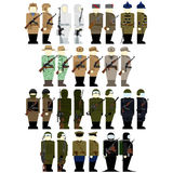 Uniforms soldiers of Russian special services Royalty Free Stock Photography