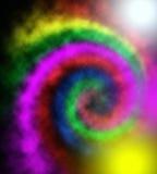 Unik abstrakt flerfärgad bakgrund - modell Arkivbild