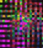 Unik abstrakt flerfärgad bakgrund - modell Royaltyfri Bild