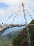 Unik hängande bro för foto i Malaysia Royaltyfria Bilder