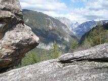 Unik sikt av Yosemite royaltyfri fotografi