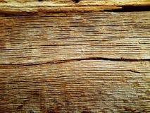 Unik tappningtextur av ett sprucket träd Arkivfoton