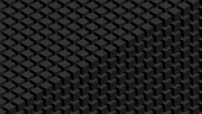 unik vägg för begreppsmässig bild för kuber 3d stock illustrationer