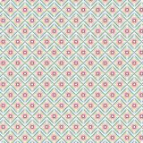 Unika Argyle Colorful Scribble Native Ethnic ljusa Diamond Seamless Pattern Background vektor illustrationer