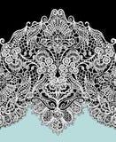 Unika blommamerris planlägger, räcker att dra den blom- modellen royaltyfri illustrationer