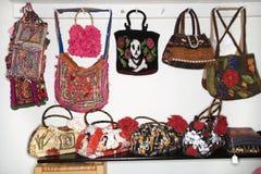 unika handväskor Royaltyfri Foto