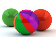 unikalna barwiona wielo- sfera Zdjęcia Royalty Free