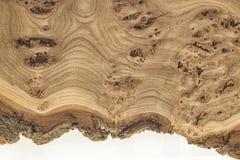 Unikalna drewniana tekstura z kępkami i pęknięciami Zdjęcie Royalty Free