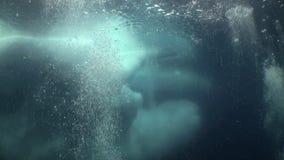 Unikalna ekranizaci strzelanina góra lodowa pod wodą zdjęcie wideo