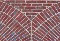 unikalnego wzoru cegły obraz stock