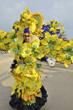 Unikalni kostiumy z tematem żółte orchidee Fotografia Stock