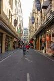 Unikalni laneways Melbourne i arkady Melbourne centrali biznes Zdjęcia Stock