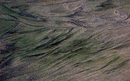Unikalni piasków wzory na plaży, Sindhudurga, maharashtra, India obraz stock