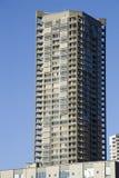 Unikalny budynek mieszkaniowy zdjęcia stock