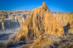 Unikalny krajobraz podczas zmierzchu, Capadoccia, Turcja Obrazy Stock