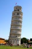 Unikalny oparty wierza Pisa w piazza dei Miracoli 11 Zdjęcie Stock