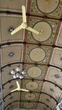 Unikalny projekta sufit w antykwarskim świętym kościół Obrazy Royalty Free