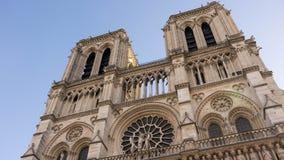 Unikt och endast den stora Notre Dame Arkivfoto