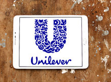 Unilever logo Royalty Free Stock Photography