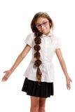 Uninformed female pupil Stock Images