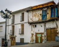 Uninhabital dom w Francja Zdjęcie Stock