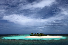 Uninhabited island Stock Photo