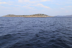 Uninhabited Island of Kornati archipelago, Croatia Stock Photos