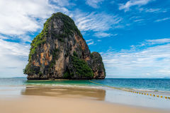 Uninhabited rock island in the Andaman Sea Royalty Free Stock Image