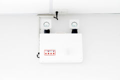 Uninterruptable Power Supply. Uninterrupted Power Supply in indrustry Royalty Free Stock Images