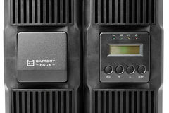 Uninterruptible power supply (ups) with reserve battery Royalty Free Stock Photos