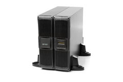 Uninterruptible power supply (ups) with reserve battery Royalty Free Stock Images