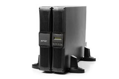 Uninterruptible power supply (ups) with reserve battery Stock Images